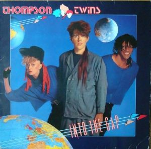 Thompson Twins ‎– Into The Gap   Poster   205 971 Stereo