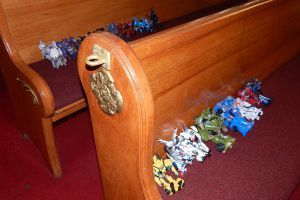 Dragstrip and Breaki's Baptism 18.30 by transformersnewfan