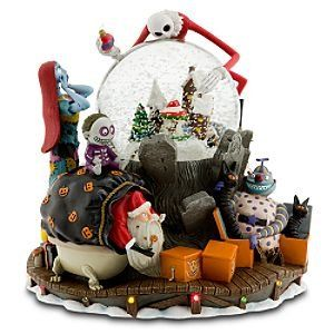 Limited Edition The Nightmare Before Christmas Mus Nightmare Before Christmas Snowglobe Nightmare Before Christmas Musical Nightmare Before Christmas Halloween