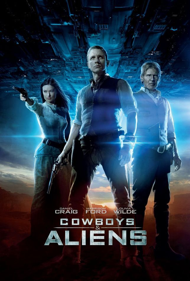 Pin By Page Stout On Movies Cowboys Aliens Aliens Movie Alien Movie Poster