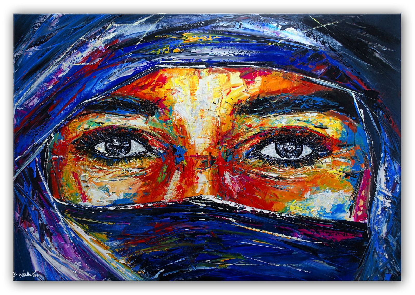 wandbild frauen gesicht abstrakt fluid art pouring malen malerei original gemalde abstrakte kunst kaufen bilder acryl