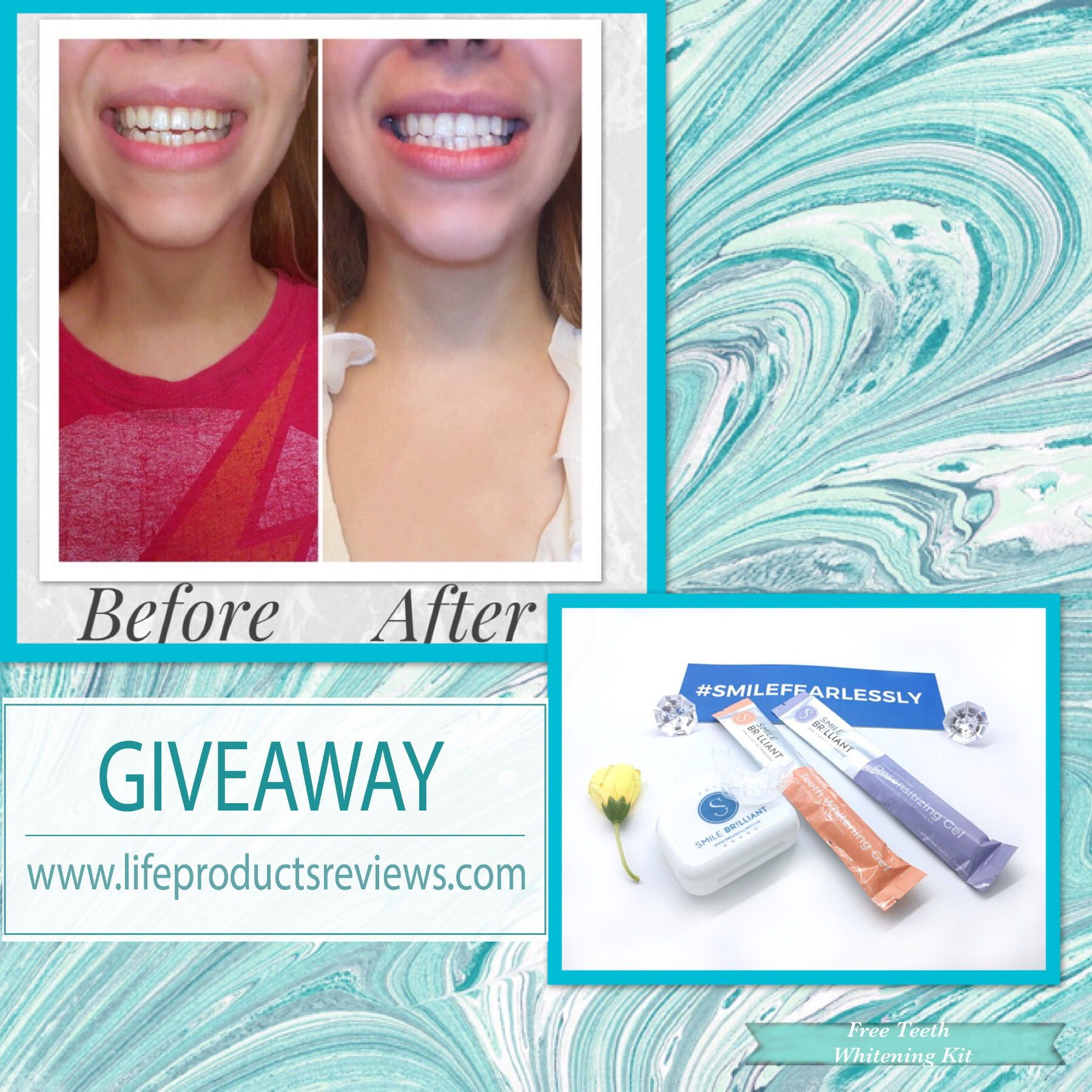 on a budget at home effective teeth whitening using smile brilliant