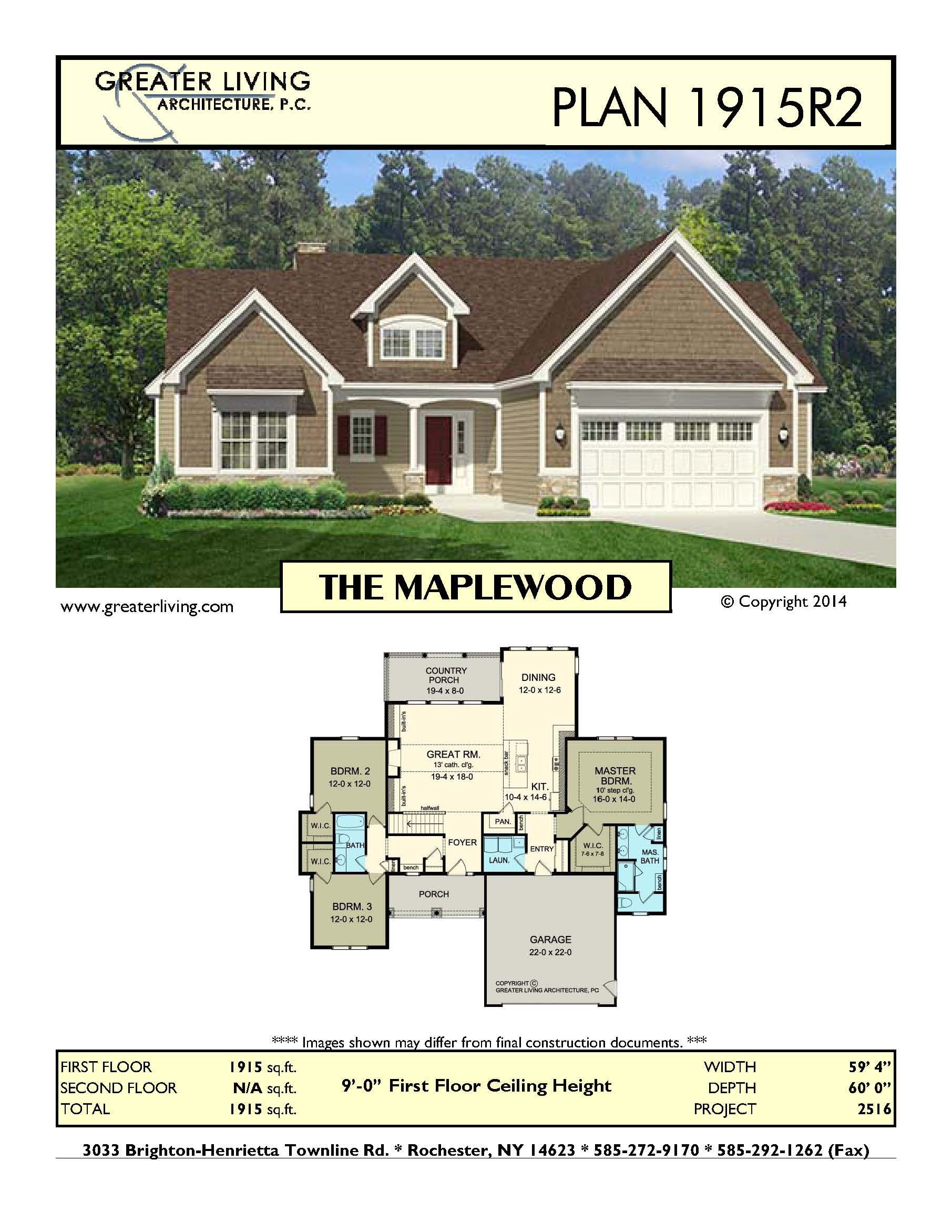 Plan 1915R2: THE MAPLEWOOD - Ranch House Plan - Greater Living ... on texas style architecture, american colonial, commercial architecture, cabin architecture, mediterranean architecture, american foursquare, russian architecture, a-frame house, rustic architecture, victorian house, california coastal architecture, american craftsman, federal architecture, mid-century modern, shotgun house, windmill architecture, a-frame architecture, cape cod, jamaica architecture, mill architecture, patio home, early california architecture, postmodern architecture, sea architecture, country architecture, industrial architecture, monterey revival architecture, split level home,
