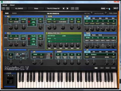 cool Arturia Matrix-12V Free Download Crack VST | Synthesizers in