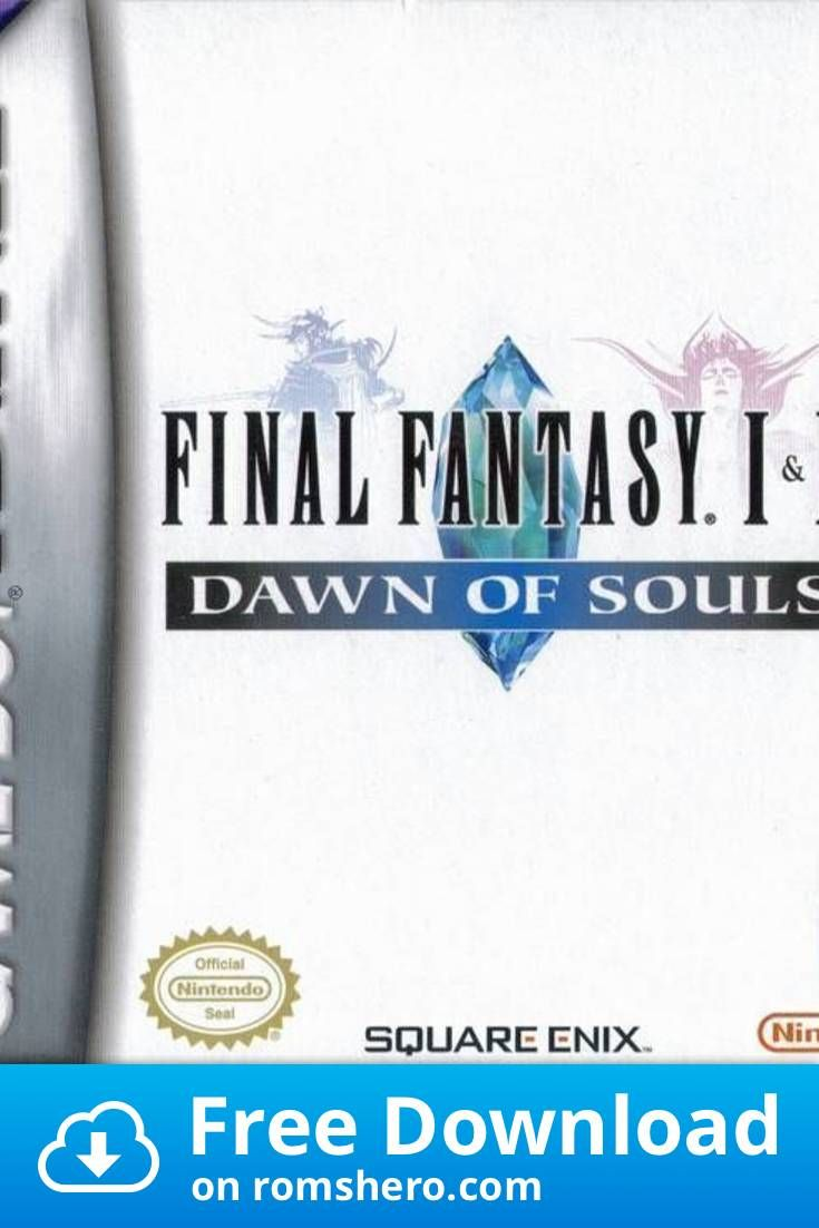 Download Final Fantasy 1 2 Dawn Of Souls Gameboy Advance