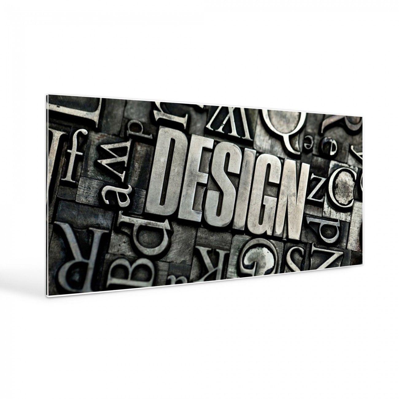 Design Magnettafel groß weiß 16x16cm Pinnwand Motiv Design