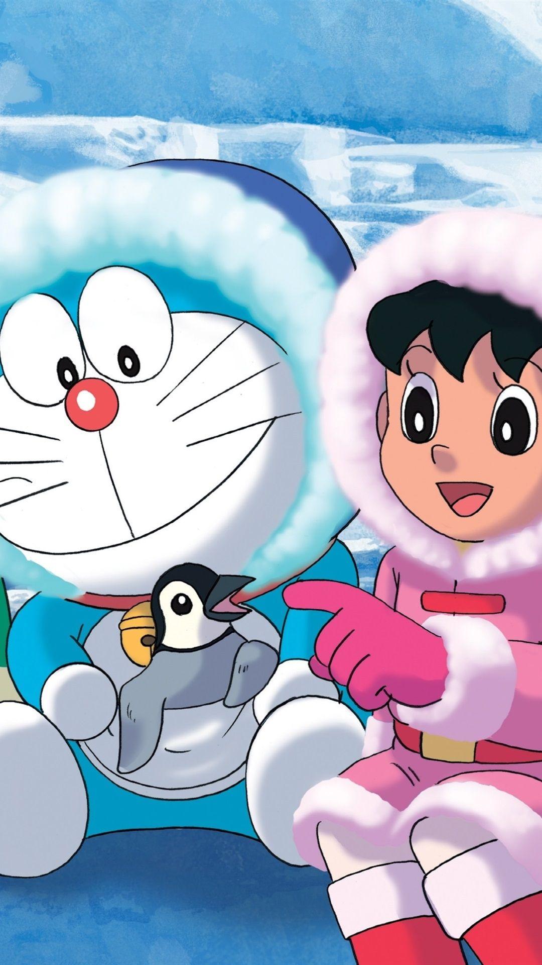 Doraemon Wallpaper Hd Android Hd Wallpapers Backgrounds With Regard To The Most Awesome Doraemon Wallpaper For Phone Di 2020 Kartun Latar Belakang Animasi Animasi