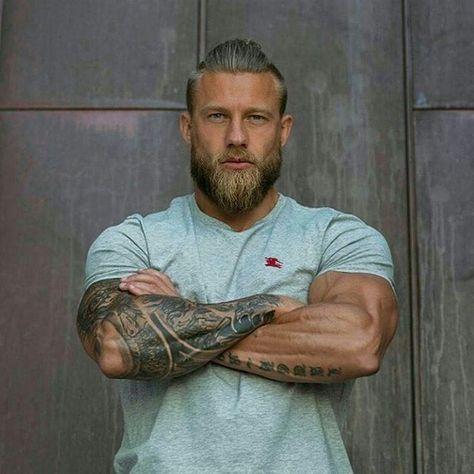 "Photo of BEARDED MODELS ™ on Instagram: "". 👹 – M O D E L 👉 @stiking1 . . ._________________________________________________  #beards #hairmodel #beardstyle #style #fashion #tattoos…"""
