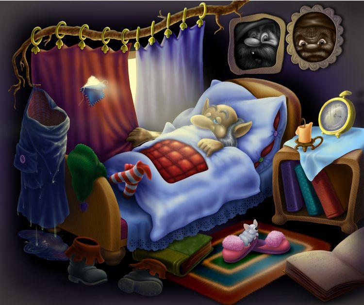 Мульты спокойной ночи картинки