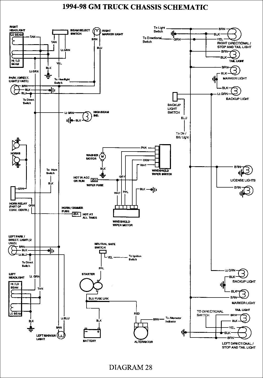 20 Simple Automotive Wiring Diagrams References | Chevy silverado ... chevy brake controller wiring diagram Pinterest