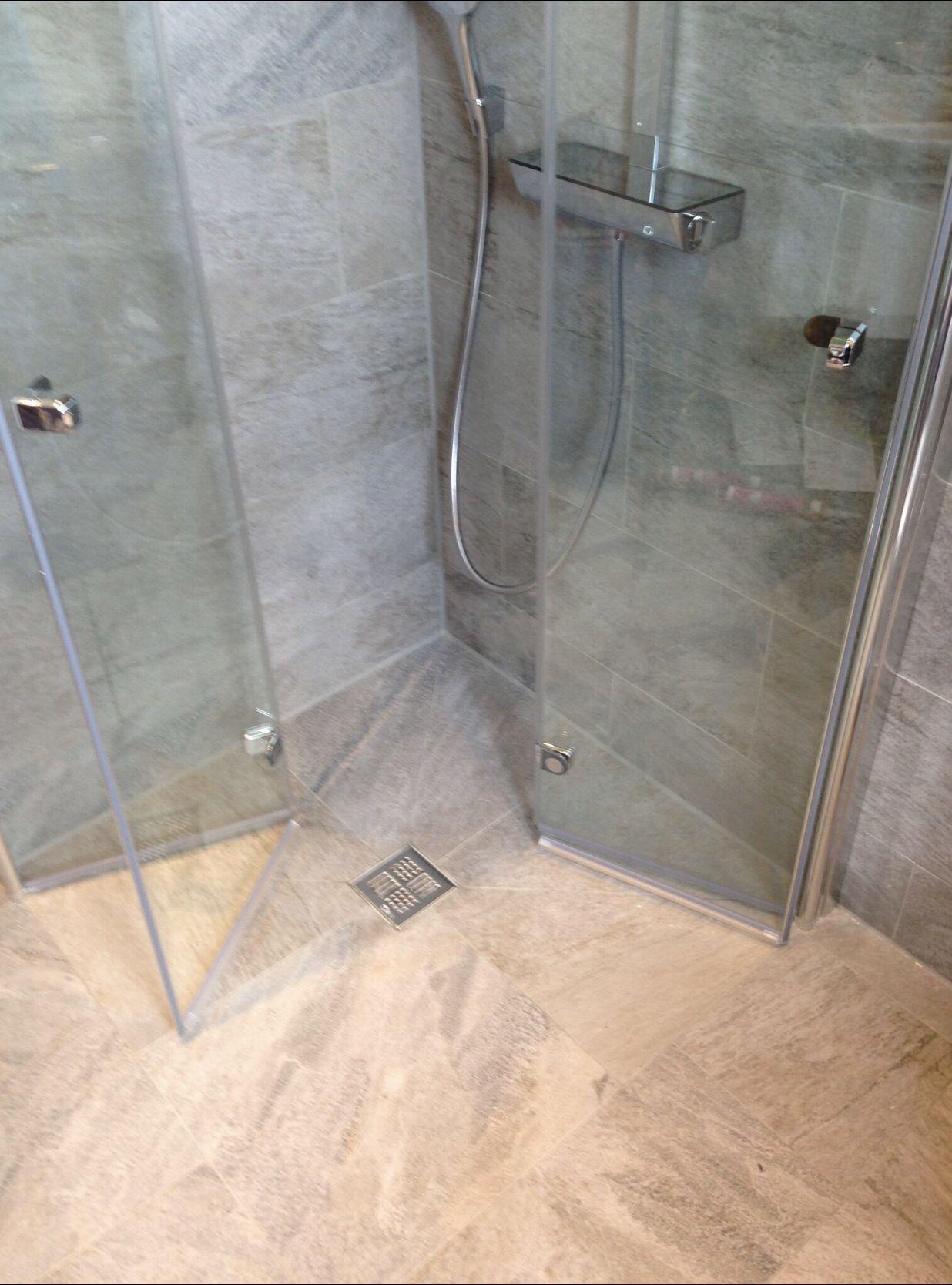 Bodengleiche Dusche Mit Duschwand Duschwand Dusche Badezimmer