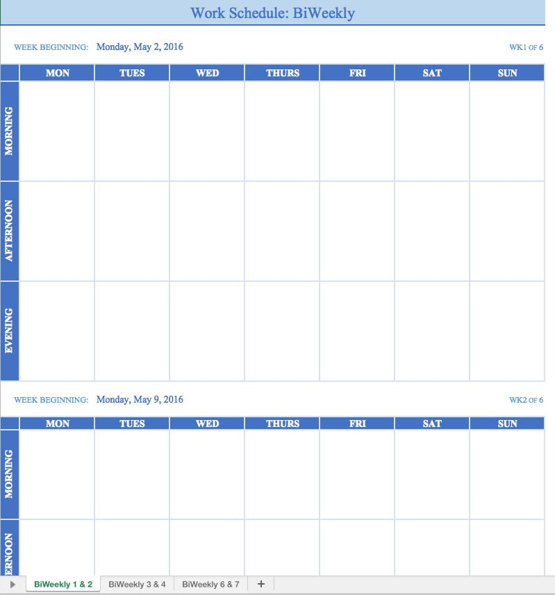 Image Result For Google Drive Weekly Calendar Template Planners