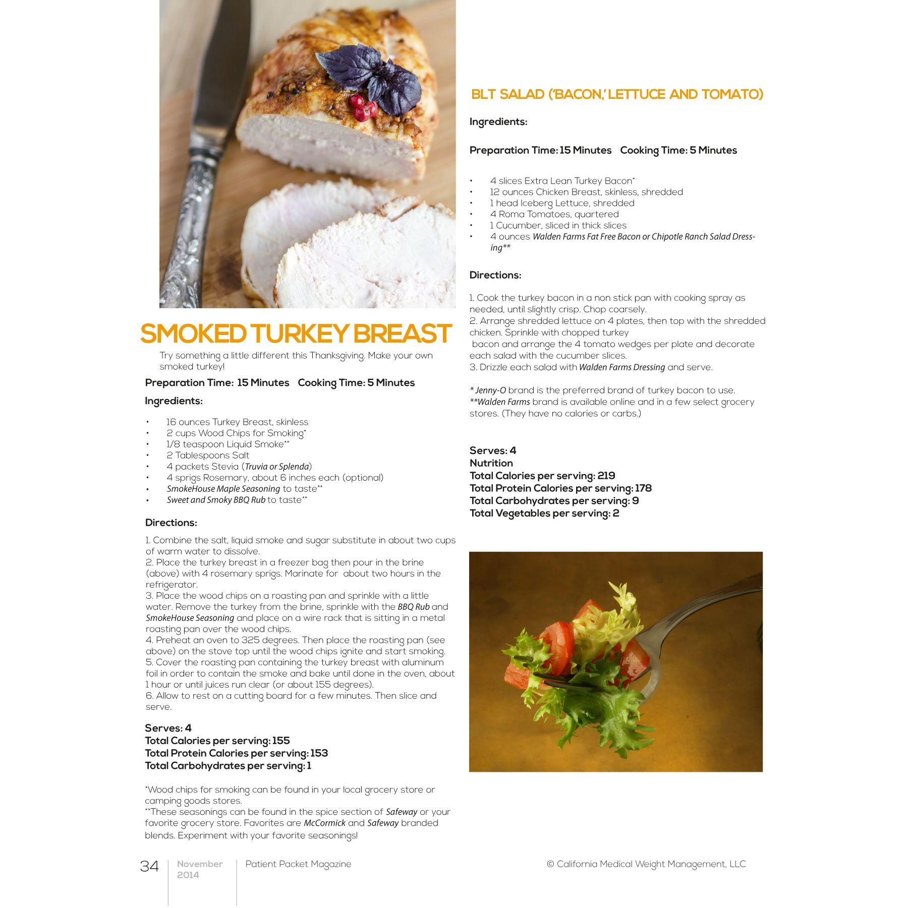 Diet Recipes: November Magazine - Page 1