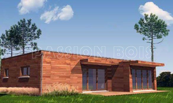 wwwchalet-maison-bois-kit les-vansphp Chalet Pinterest - maison bois en kit toit plat
