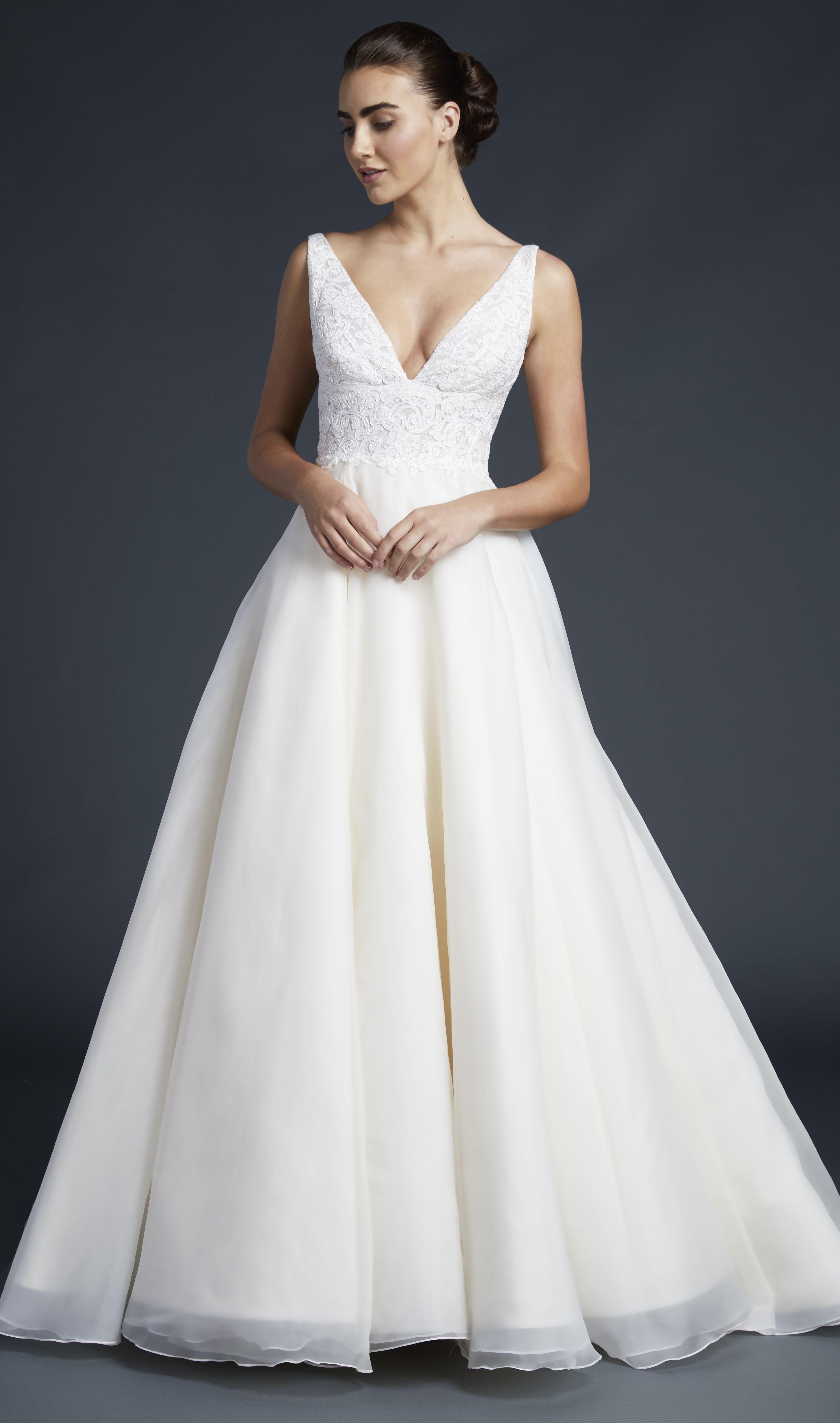 Fowler Gown Wedding Dress Organza Wedding Dresses Kleinfeld Organza Wedding Dress