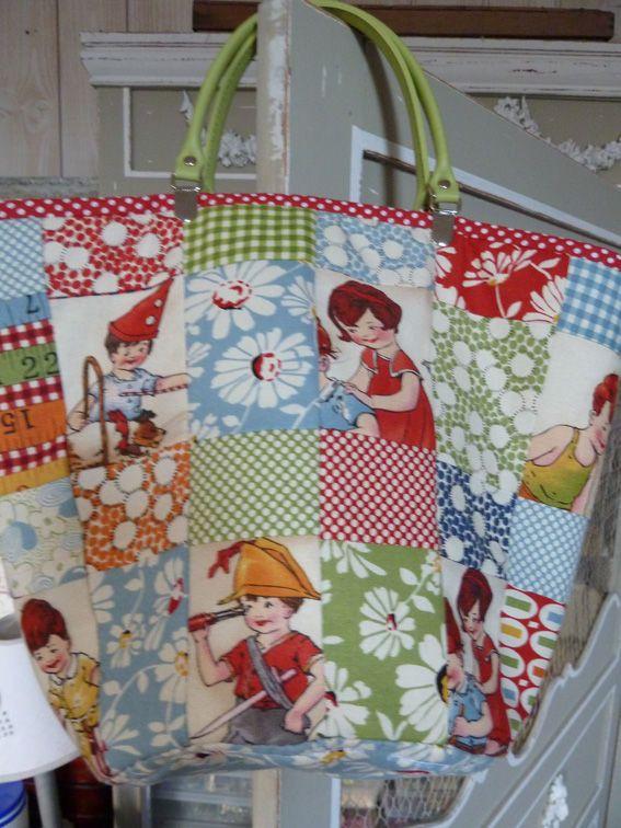 cute Patchwork Bag
