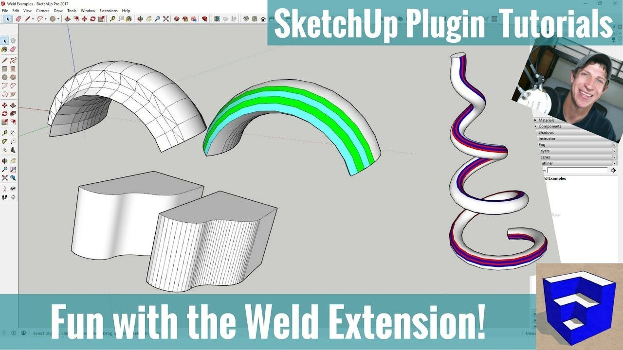 Fun with the Weld Extension in SketchUp - SketchUp ...