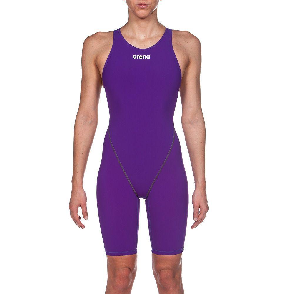 cc9aa5d43b255 Arena W Powerskin ST 2.0 Kneesuit (2a898991) in Purple | Carbon ...