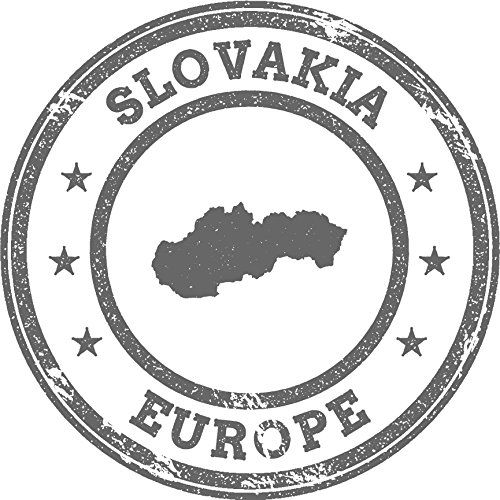 Slovakia Map Europe Grunge Rubber Stamp Home Decal Vinyl Sticker 12 X 12 Details Can Be Found By Clicking On The Travel Stamp Window Stickers Vinyl Sticker