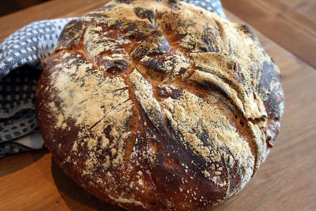 Kaikki äitini reseptit: Dutch oven ja vaiva(ama)ton leipä