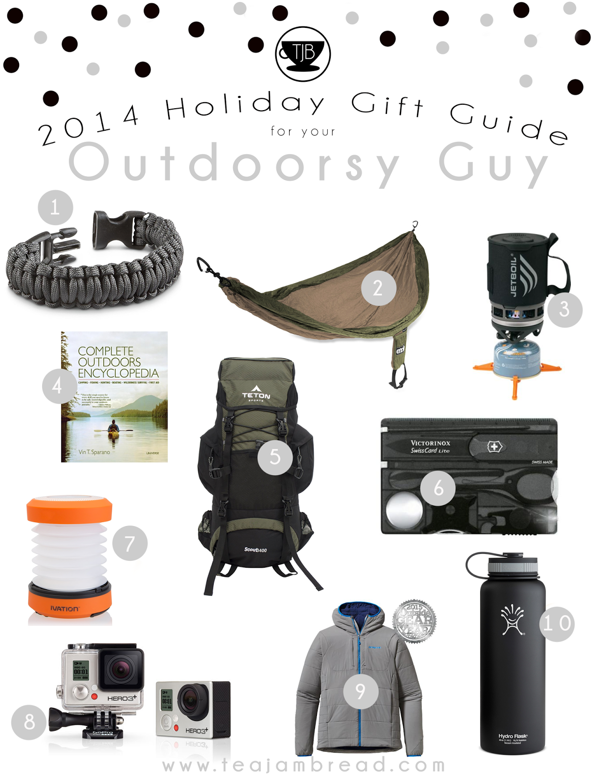 2014 Holiday Gift Guide: Outdoorsy Guy | Gift Guides | Pinterest ...