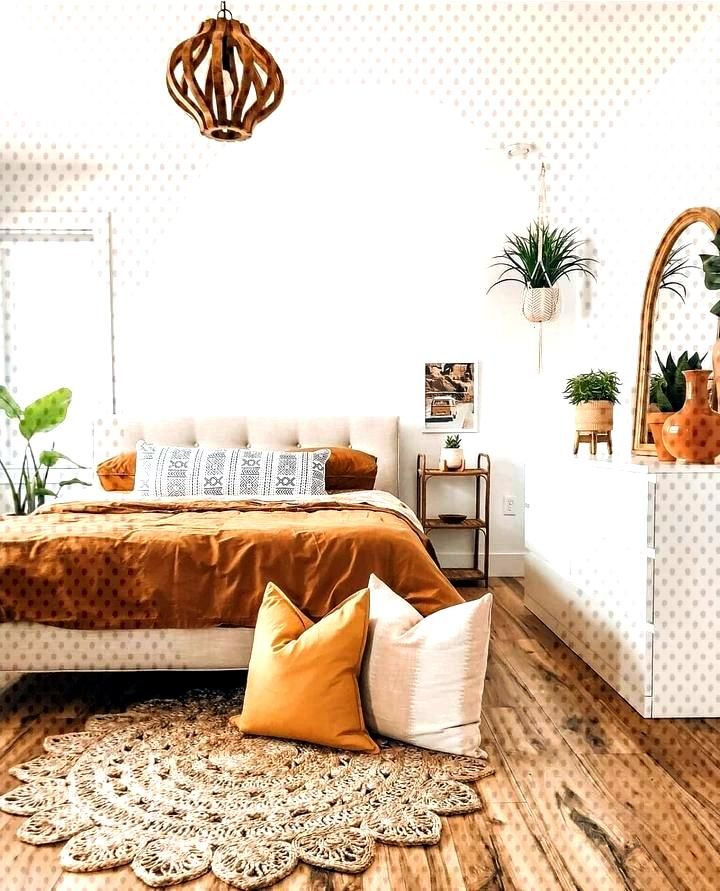 ↗ 87 Models Comfortable Bohemian Bedroom 20 -  -