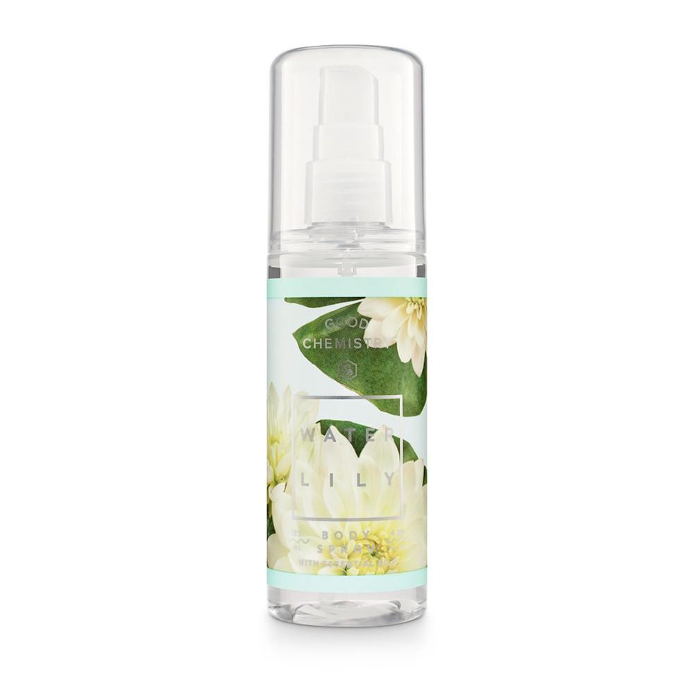 Waterlily By Good Chemistry Body Mist Women S Body Spray 4 25