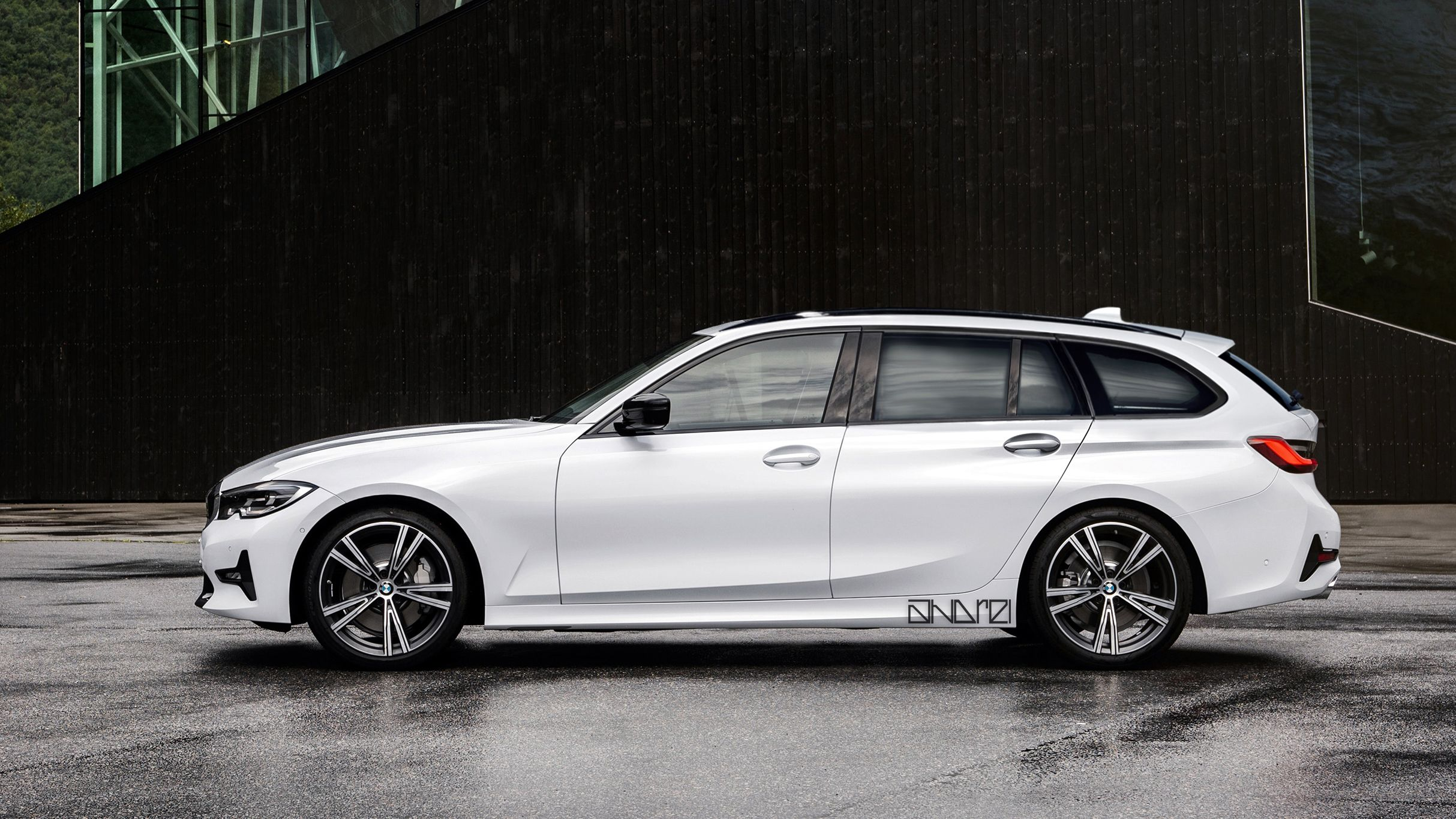 2020 Bmw 3 Series Touring Rendered Top Speed Bmw Wagon Bmw Touring Bmw