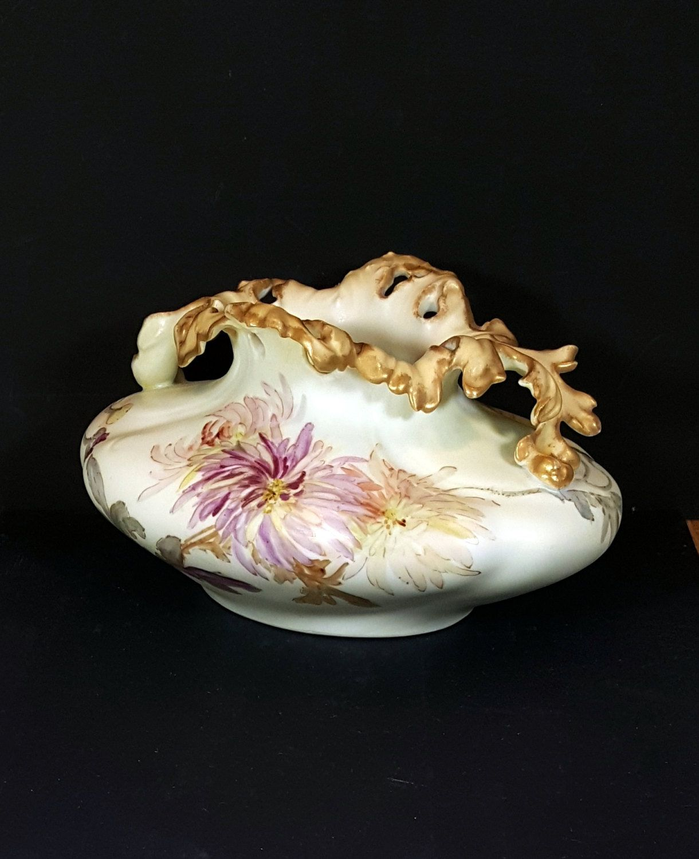Stunning antique french vase porcelain limoges vase breathtaking stunning antique french vase porcelain limoges vase breathtaking unique vase rare design christmas or wedding gift reviewsmspy