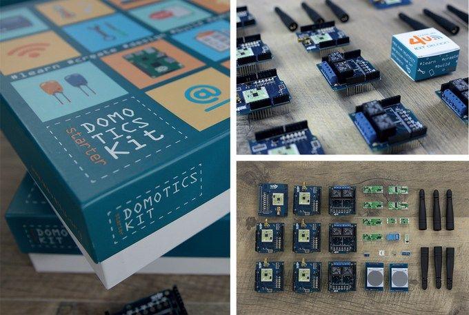 Domotics Kit - Kit de Iot para Smart Home | Placas | Smart