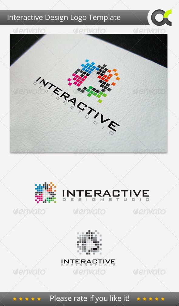Interactive Deisgn Studio - Logo Design Template Vector #logotype Download it here: http://graphicriver.net/item/interactive-deisgn-studio-logo/3282724?s_rank=96?ref=nexion