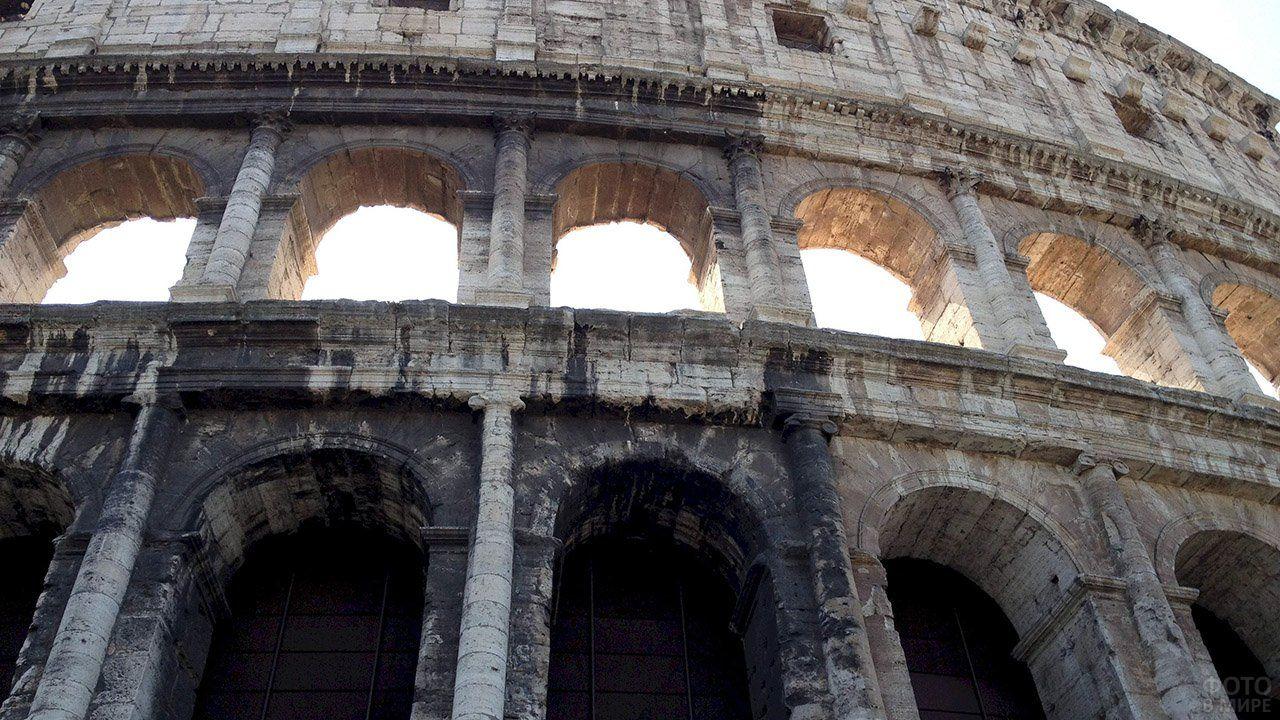 Фото Колизея в 2020 г   Колизей, Арка, Здания