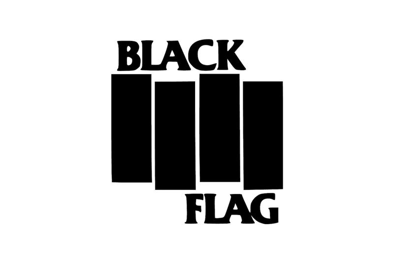 Top 10 Band Music Logos For Graphic Design Inspiration Punk Bands Logos Black Flag Band Black Flag Logo