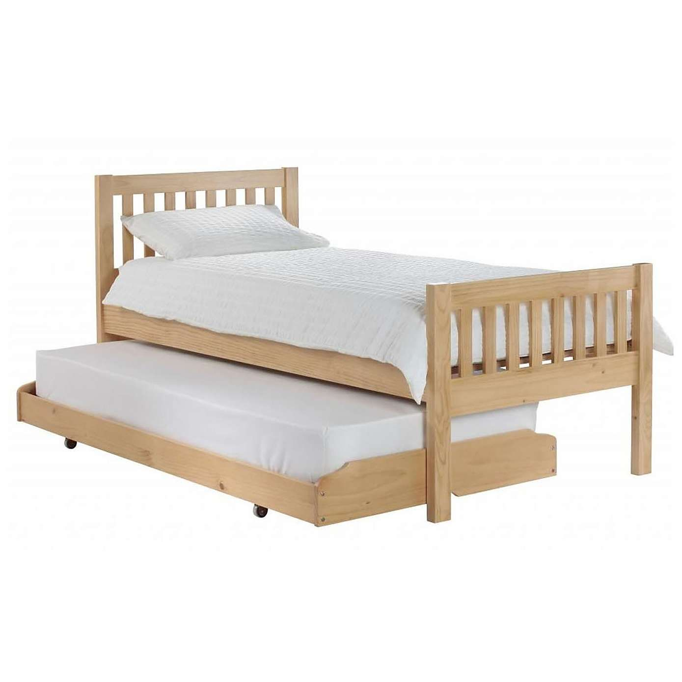 Lena Pine Wooden Guest Bed