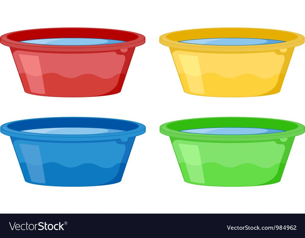 Tubs Of Water Download A Free Preview Or High Quality Adobe Illustrator Ai Eps Pdf And High Resolution Jpeg Versions Water Tub Vector Free Cute Images