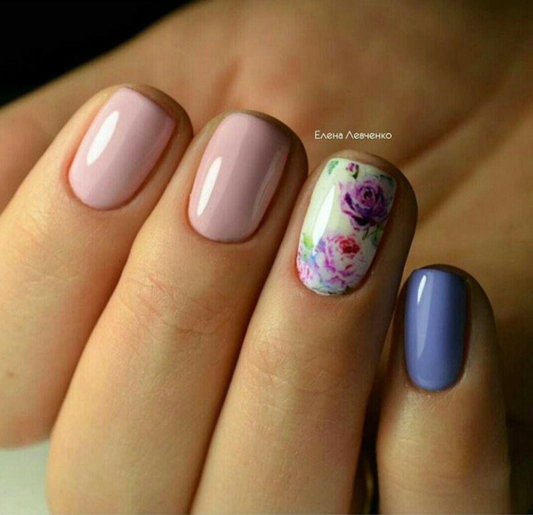 Pin de Belén Franco en Uñas   Pinterest   Decoración de uñas, Uña ...