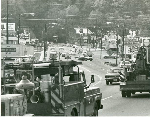 Tunnel Rd Circa Late 1960s Vintage Asheville Appalachia Historical Place