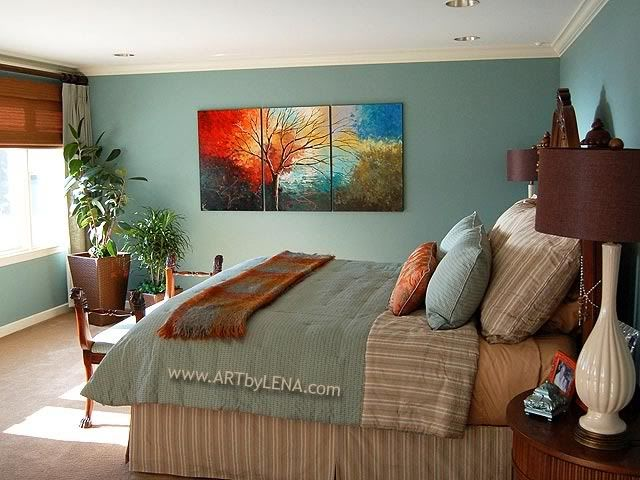 Paintings For Master Bedrooms | New House Designs