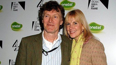 Steve Winwood with friendly, Wife Eugenia Winwood