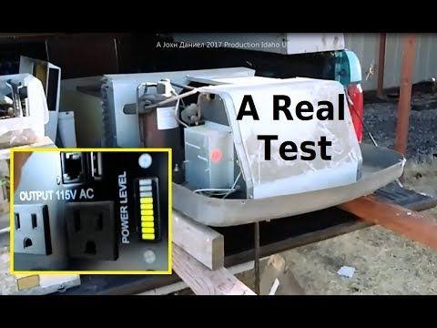 RV Air Conditioner Running off Solar Power & Inverter - The Test