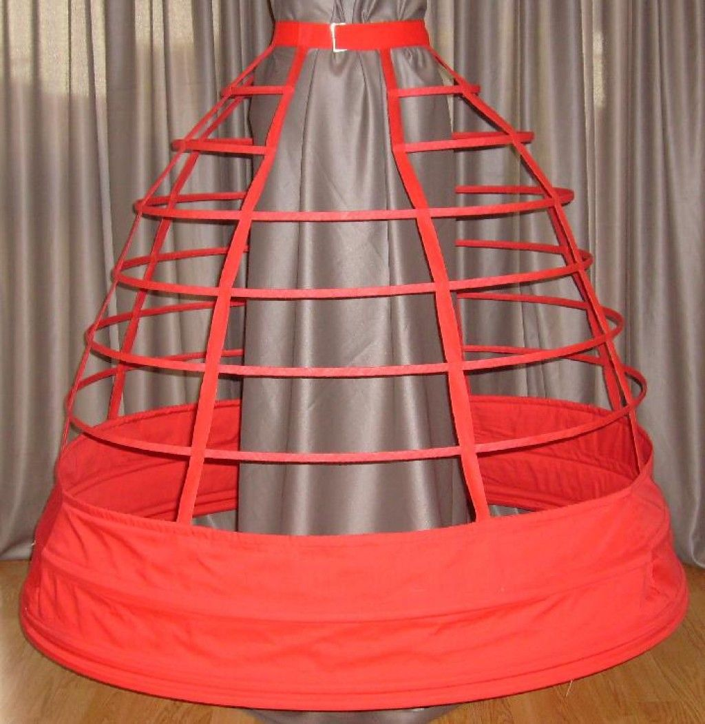Women and Fashions of the Victorian Era: From Hoop Skirts to Bustles - 1837 - 1900. Crinoline Cage