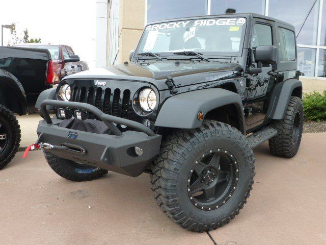 New 2015 Jeep Wrangler Sport Rocky Ridge Phantom For Sale In