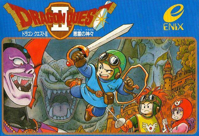 Dragon Quest II: Luminaries of the Legendary Line (NES/MSX