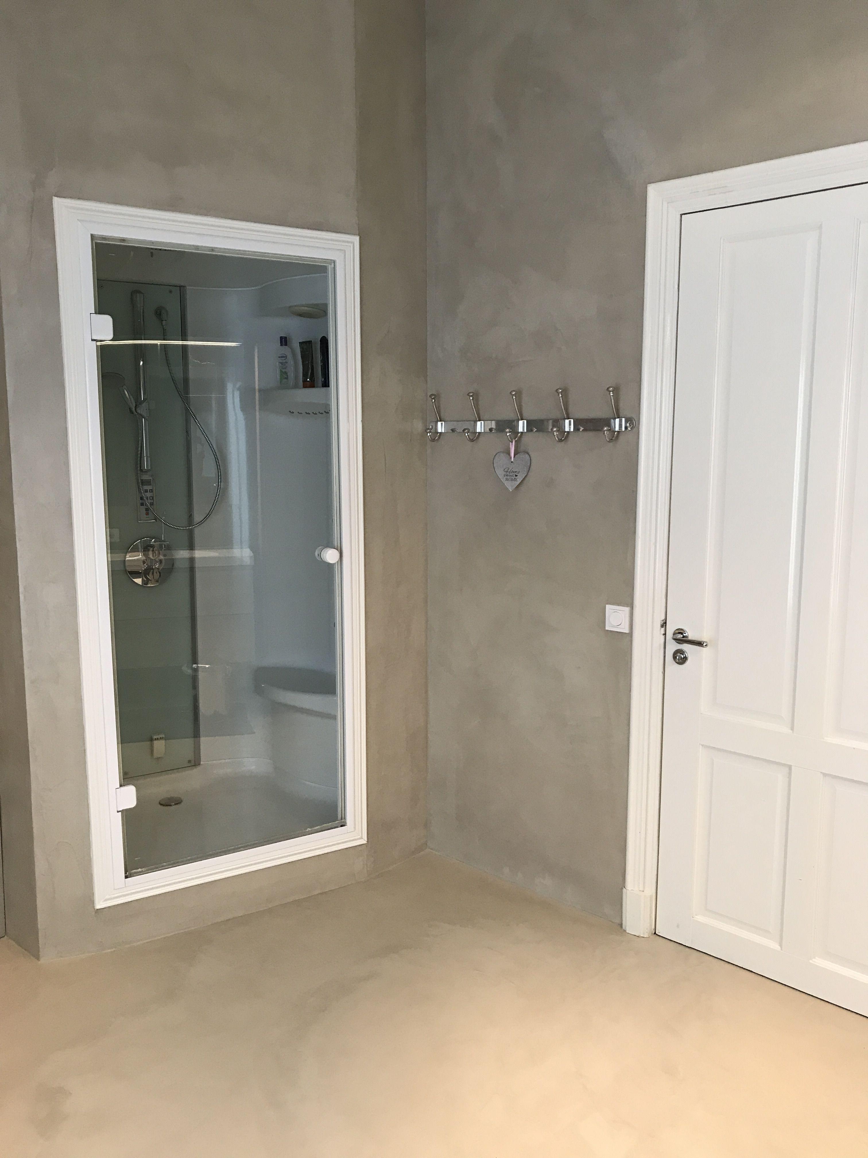 beton cire badkamer pinterest