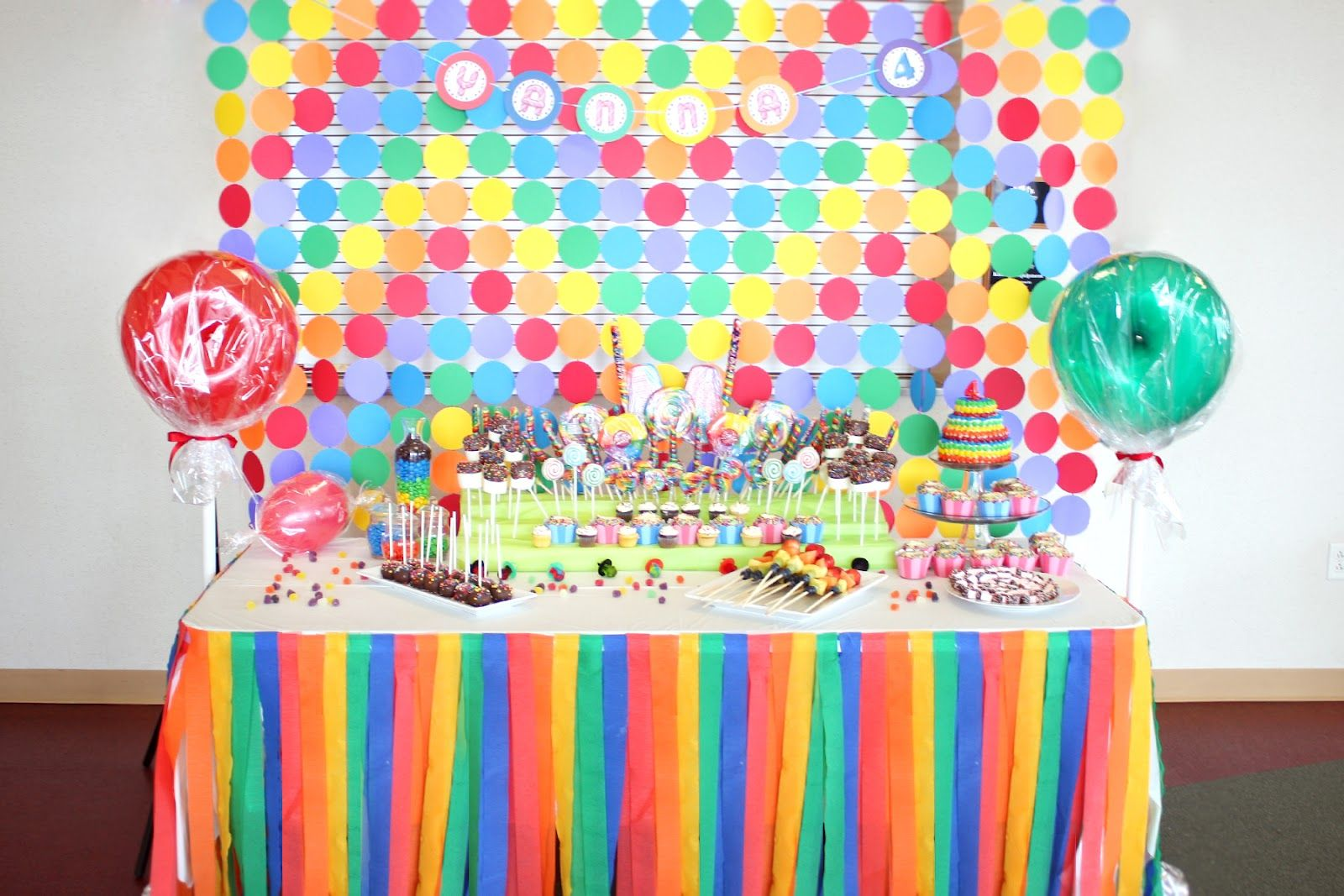 Candyland Party Table Decorations Home Furniture Design