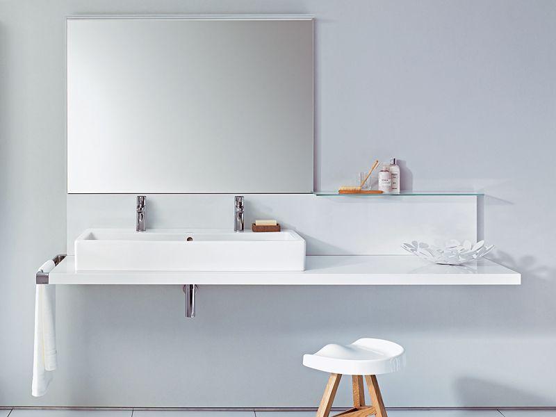 Toilette Duravit plan de toilette simple collection delos by duravit italia design
