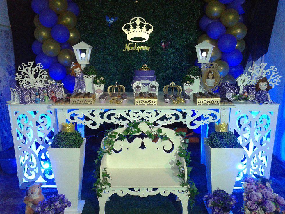 TEMA PRINCESA SOFIA:  festa da Nadynne