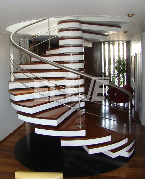 Escalera caracol de dise o escaleras pinterest staircases stairways and interiors - Escaleras de diseno ...
