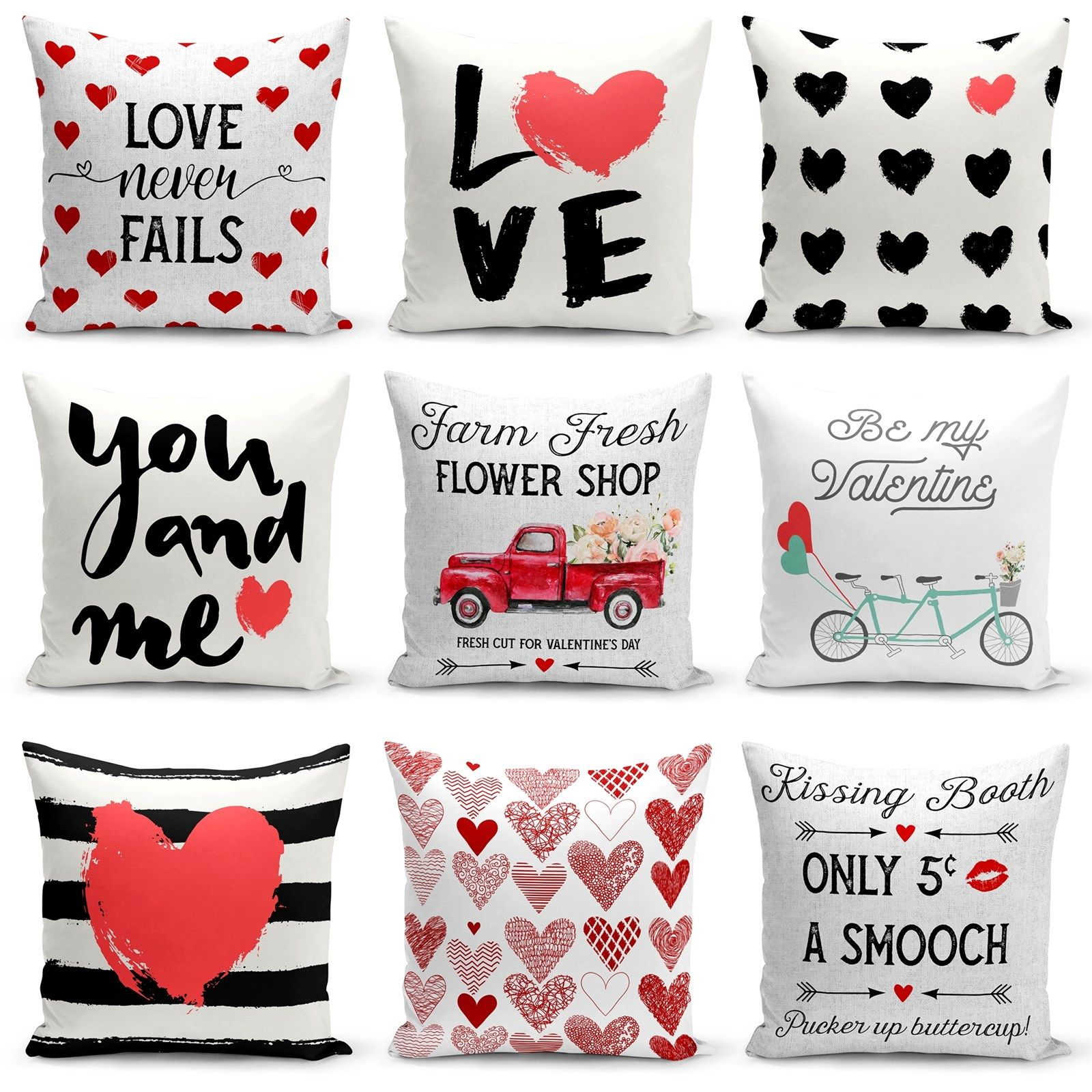 valentine s pillow cover collection