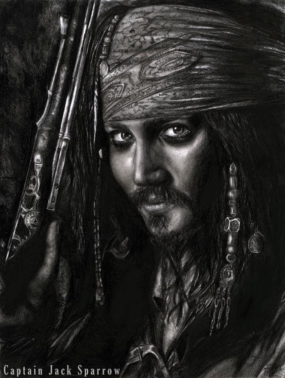 Jack Sparrow Hyperrealismus Kunst